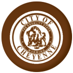 Cheyenne (Wyoming) Flag 58mm Fridge Magnet